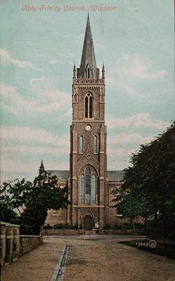 Trinity Church around 1900