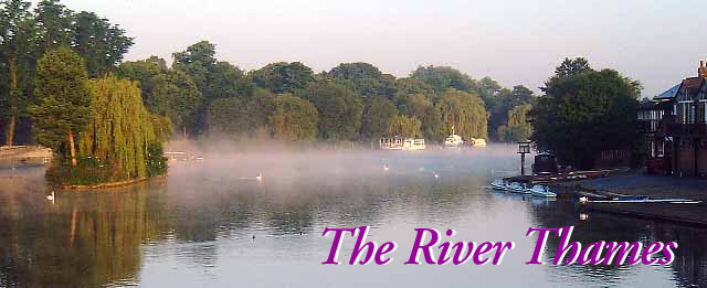 The River Thames at Dawn