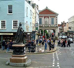 Queen Victoria Statue and Guildhall