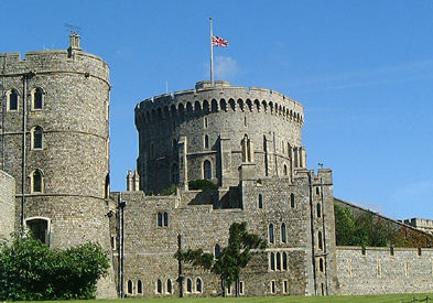 About Flags And Flag Staff At Windsor Castle And The Mystery Of The
