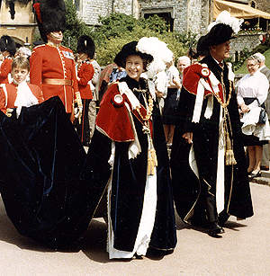 The Most Noble Order of The Garter. Pictures and story