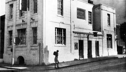 The Clarence Hotel before Ward Royal